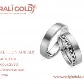 Verighete din aur alb - Cod Produs: 2333