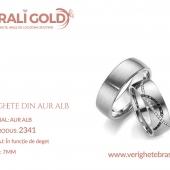 Verighete din aur alb - Cod Produs: 2341