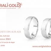 Verighete din aur alb - Cod Produs: 3061