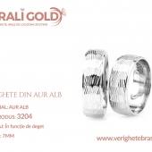 Verighete din aur alb - Cod Produs: 3204