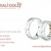 Verighete din aur alb - Cod Produs: 3213