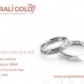 Verighete din aur alb - Cod Produs: 3464