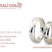 Verighete din aur alb - Cod Produs: 3631
