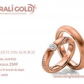 Verighete din aur roz - Cod Produs: 2349