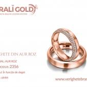 Verighete din aur roz - Cod Produs: 2356