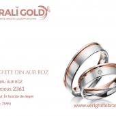 Verighete din aur roz - Cod Produs: 2361