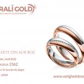 Verighete din aur roz - Cod Produs: 2362