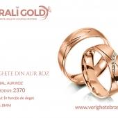 Verighete din aur roz - Cod Produs: 2370
