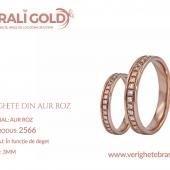 Verighete din aur roz - Cod Produs: 2566