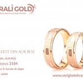 Verighete din aur roz - Cod Produs: 3184