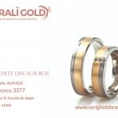 Verighete din aur roz - Cod Produs: 3377