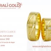 Verighete clasice - Cod Produs: 142