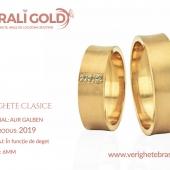 Verighete clasice - Cod Produs: 2019