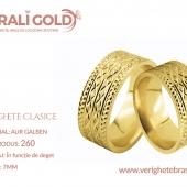 Verighete clasice - Cod Produs: 260