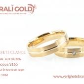 Verighete clasice - Cod Produs: 3165