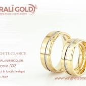 Verighete clasice - Cod Produs: 332