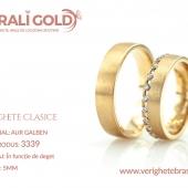 Verighete clasice - Cod Produs: 3339