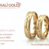 Verighete clasice - Cod Produs: 3403