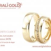 Verighete clasice - Cod Produs: 3478