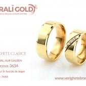Verighete clasice - Cod Produs: 3634
