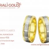 Verighete clasice - Cod Produs: 416