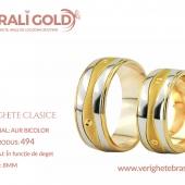 Verighete clasice - Cod Produs: 494