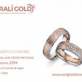Verighete din aur cu piatră - Cod Produs: 2394