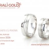 Verighete din aur cu piatră - Cod Produs: 3226