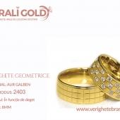 Verighete cu forme geometrice - Cod Produs: 2403