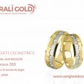Verighete cu forme geometrice - Cod Produs: 353