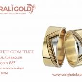 Verighete cu forme geometrice - Cod Produs: 867